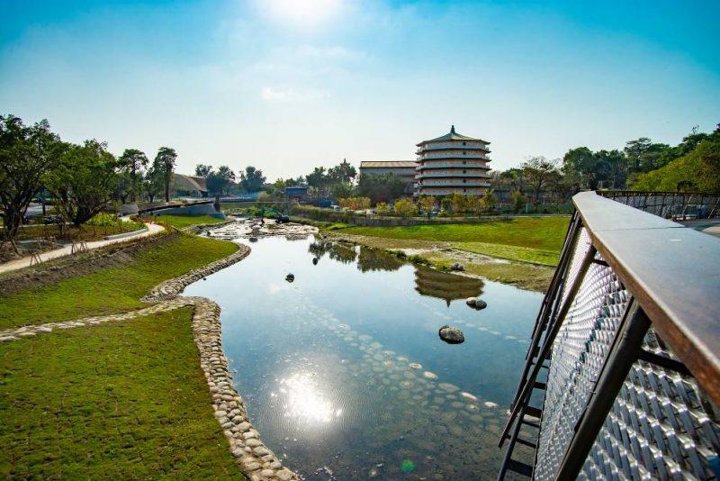 臺南市竹溪水環境